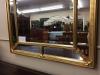 Adams Style Gilded Beveled Mirror