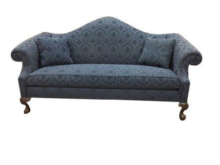 "Ethan Allen Camel Back Sofa ""Sold"" ⋆ Bohemian's"