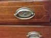 Antique Mahogany Inlaid Federal Secretary Desk