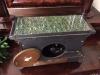 Antique Seth Thomas Mantle Clock with Green Adamantine