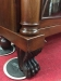 Antique Mahogany Paw Foot Bookcase
