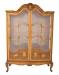 Antique Fruitwood Art Nouveau Cabinet