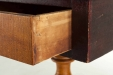 Antique Tiger Maple and Walnut Stand