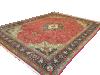 Vintage Persian Tabriz Rug Carpet