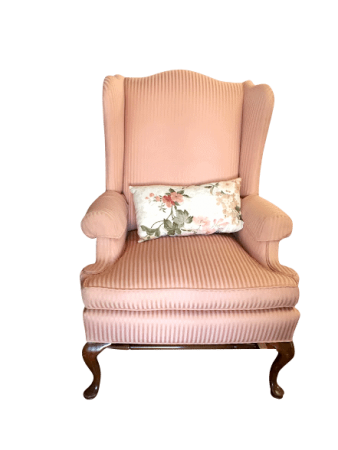 Pink Wingback
