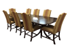 Henkel Harris Mahogany Dining Room Table and Chairs