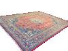 Vintage Persian Mashad Room Size Carpet Rug