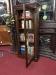 antique small bookcase