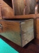 antique drop front desk