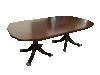 kindel furniture mahogany table