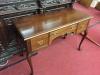 Queen Anne Mahogany Desk