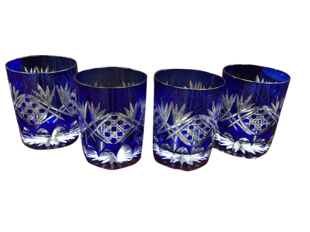 blue bohemian glasses