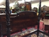 antique carved poster bed
