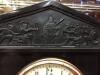 cast iron mantel clock