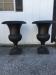 vintage garden urns