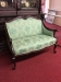 antique victorian settee