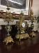 Imperial Clock and Candelabra set