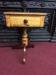 antique maple end table