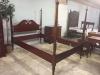 vintage mahogany poster bed