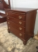 Biggs Mahogany Bachelor Chest