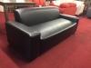 pleather sofa