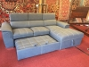 blue sectional sofa