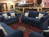 navy sofa set
