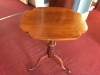 antique cherry candlestand