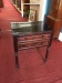 antique two drawer work table