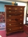 antique federal chest of drawers - mahogany