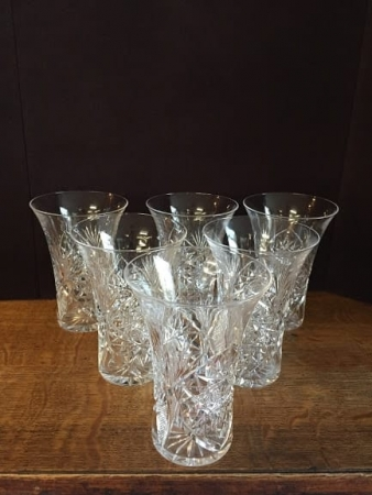 tumbler cut glass crystal