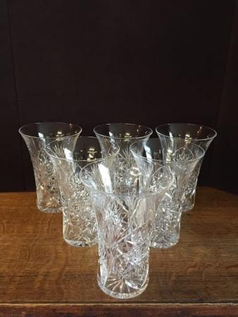 tumbler cut glass crystal