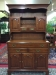 henkel harris cherry hutch cabinet