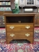 stickley cherry two drawer cabinet
