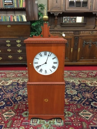cherry tower clock case