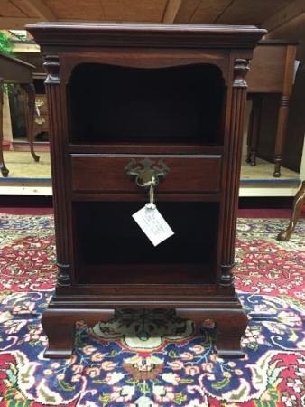 kling mahogany one drawer nightstand
