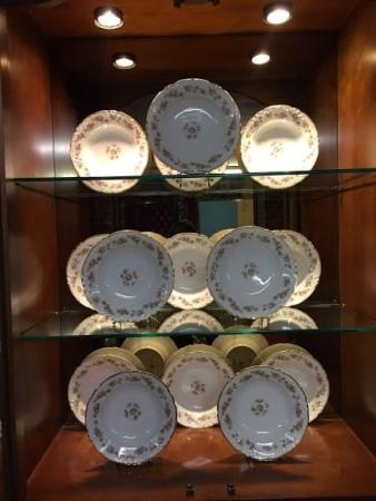 antique limoges soup bowls
