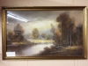 antique pastel on paper by Hubert Lewis
