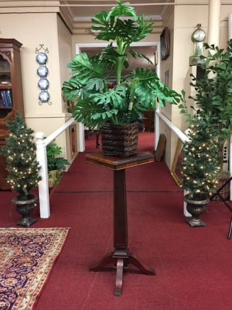 antique empire plant stand