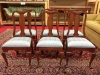 pennsylvania house cherry side dining chairs