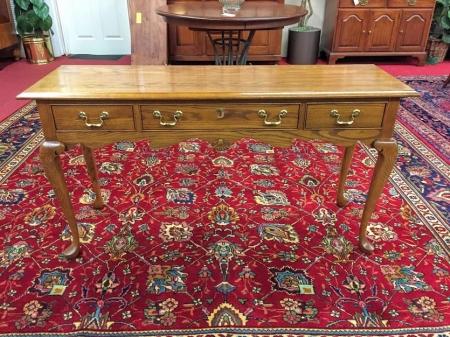 Pennsylvania House Oak Sofa Table