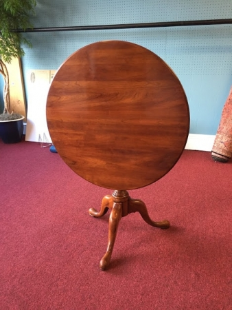 statton cherry tilt top table