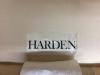 harden furniture label