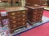 harden cherry four drawer nightstands