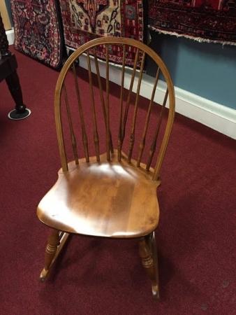 Nichols and Stone Child's Rocking Chair
