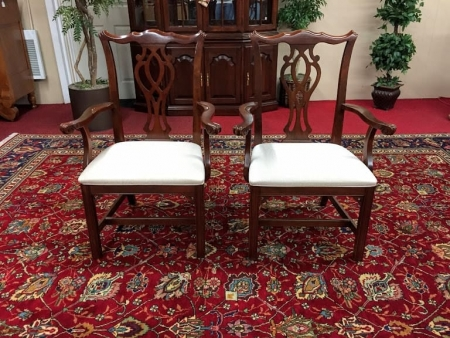 Knob Creek Chippendale Arm Chairs