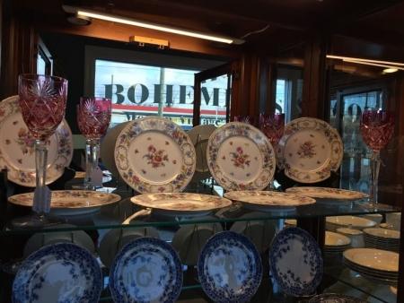 Dresden Dessert Plates
