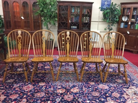 Bent Brothers Oak Windsor Chairs