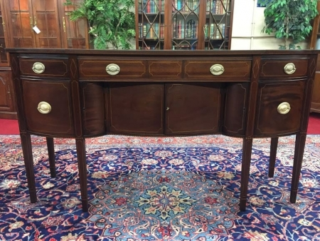 Inlaid Mahogany Hepplewhite Sideboard