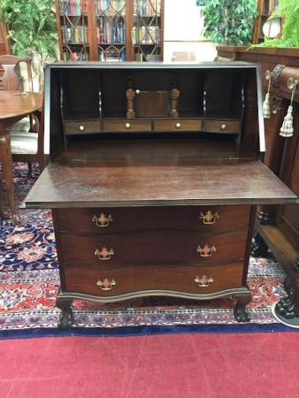 antique mahogany secretary desk